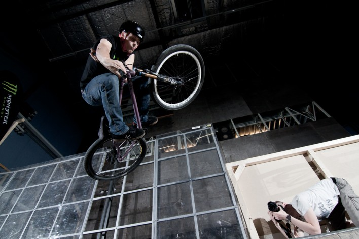 Bluebox Augsburg - indoor BMX photography