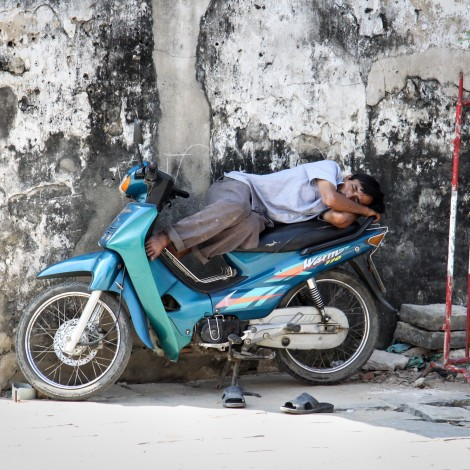 Taking a Nap – Vietnam