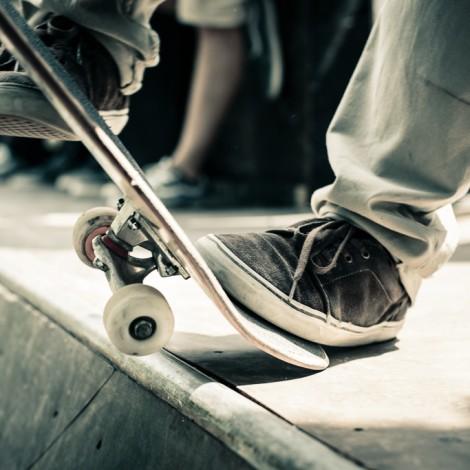 skateboard miniramp contest